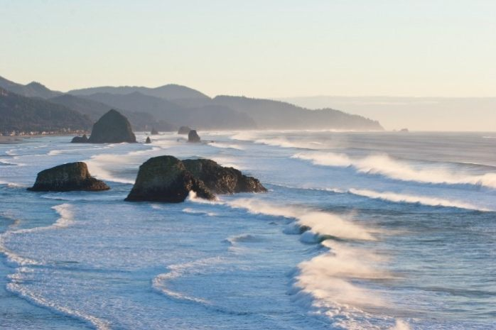 View-from-Ecola-State-Park-with-Haystack-Rock
