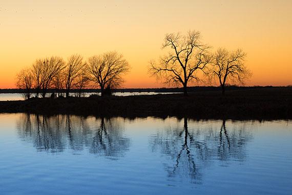 sunset-reflection-photography