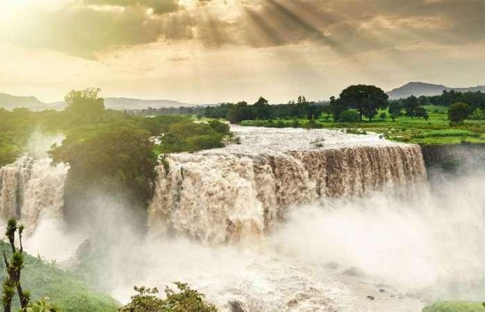 Blue Nile Falls, Ethiopia