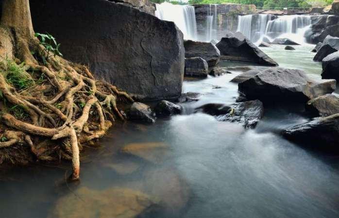 Tat Ton National Park waterfall, Thailand