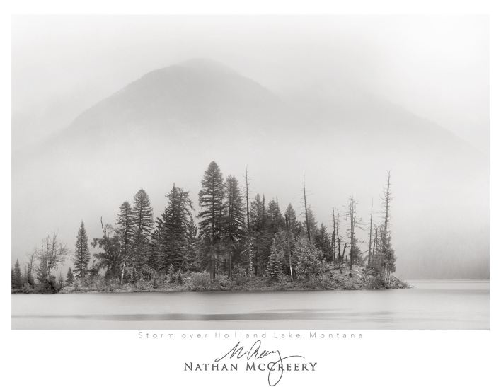 Nathan Mccreery - Black and white World
